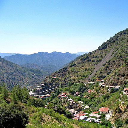 <br>Cyprus property, Troodos
