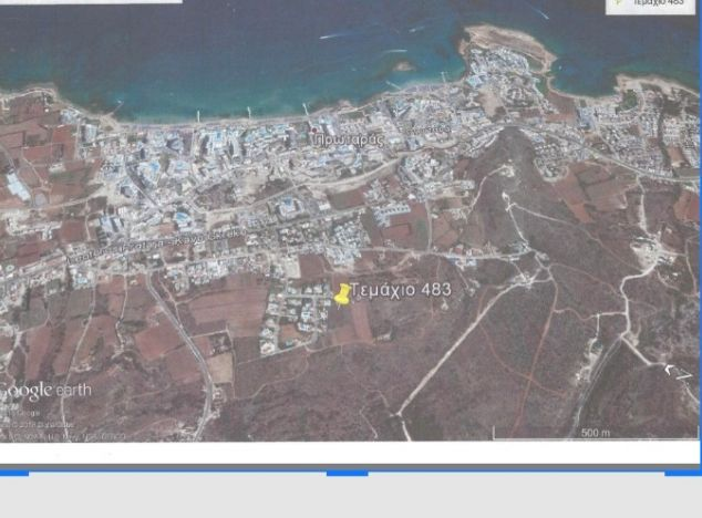 Land 13474 on sell in Protaras