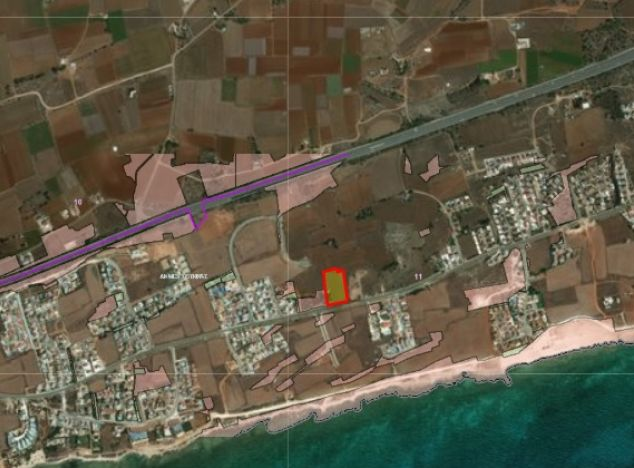 Land 16030 on sell in Ayia Napa