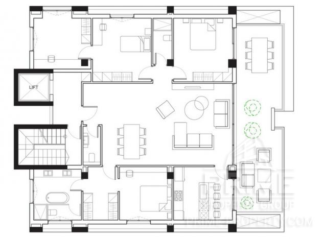Sell Apartment 16638 in Limassol