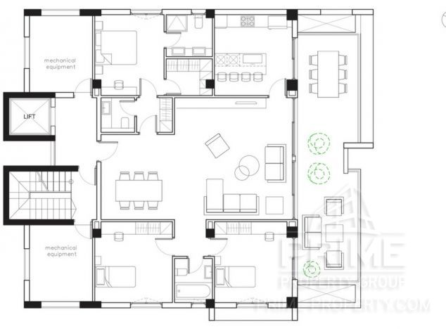 Buy Penthouse 16640 in Limassol