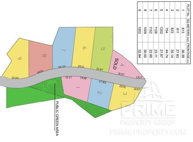Cyprus property, Land for sale ID:3647