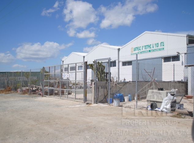 Sell Industrial estate 5650 in Larnaca