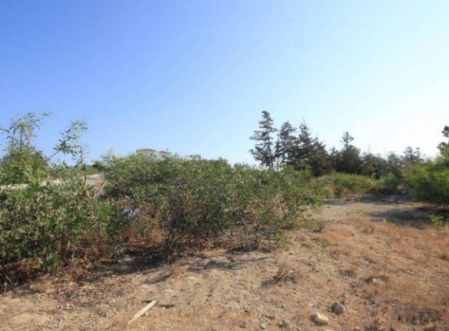 Land 7734 on sell in Paphos